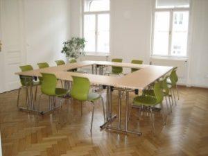 Räumlichkeiten für die Coaching Ausbildung Wien