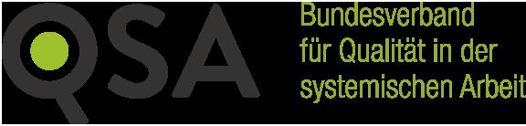 QSA Logo Bundesverband für Qualität in der systemischen Arbeit